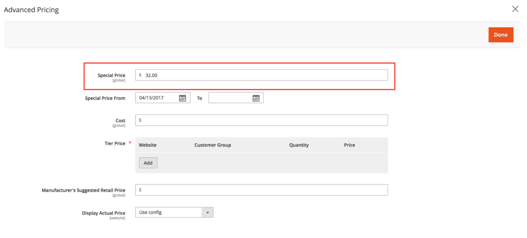 How To Configure Advanced Pricing in Magento 2 - Shero Commerce