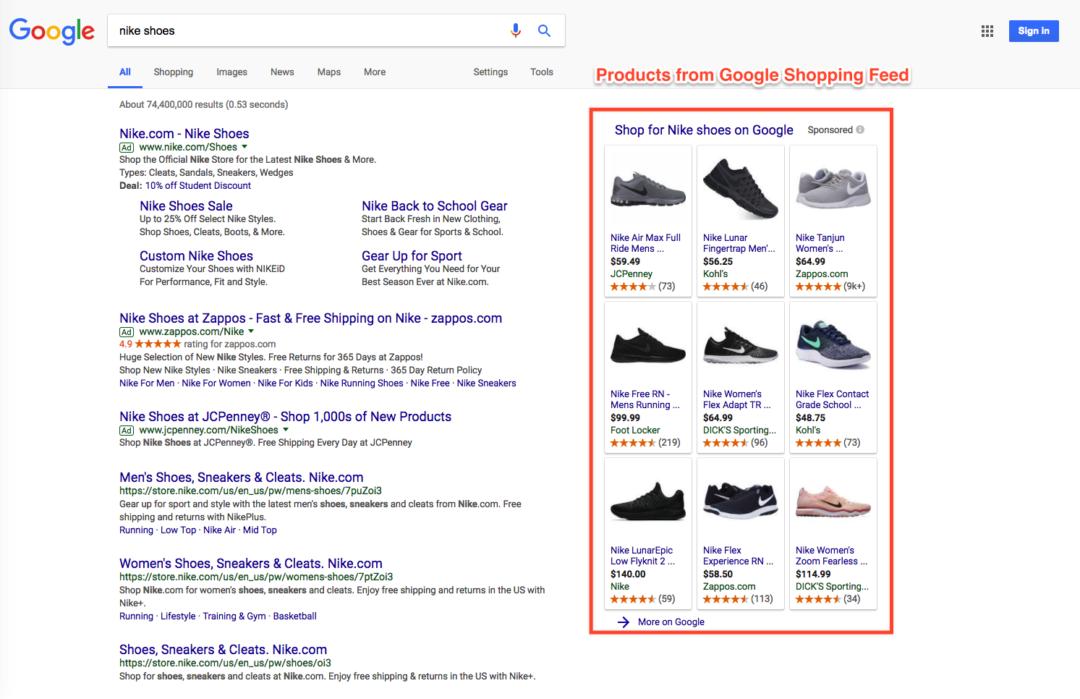 Google Merchant Center and Google Shopping Feed